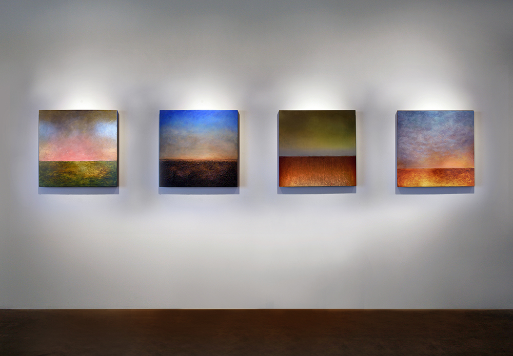 Luminous Horizon Series  Installation, Solomon Dubnick Gallery, Sacramento, CA