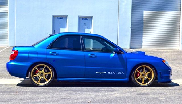 Classic Subaru color combination  #impreza #wrx #sti #wrxsti #gdb #hicusa #rearvisor