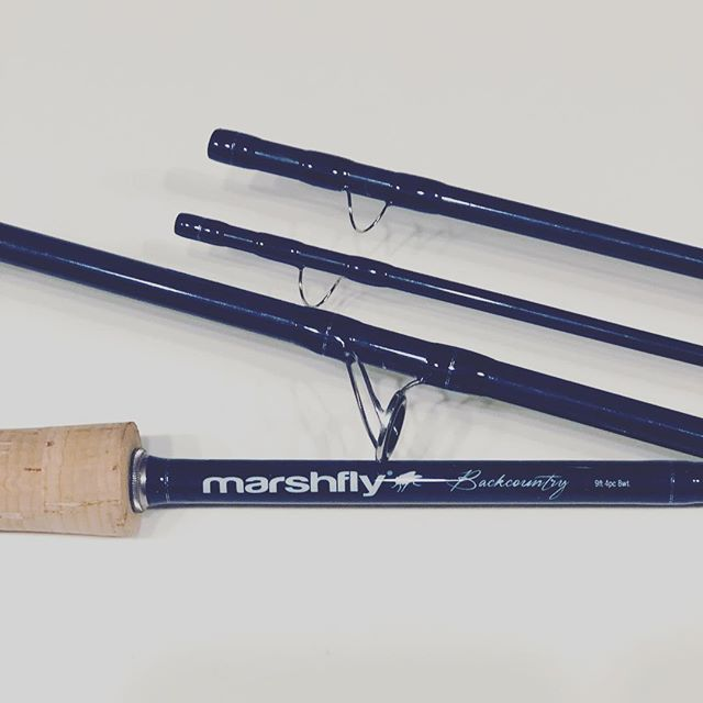 Have a few backcountry 8wts. In stock. Check the website. #marshfly #marshflyusa #flyrod