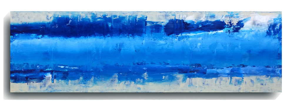 Beam Panoramic 01, 2015, Acrylic Painting by Mark Sivertsen of SivertsenArt.com