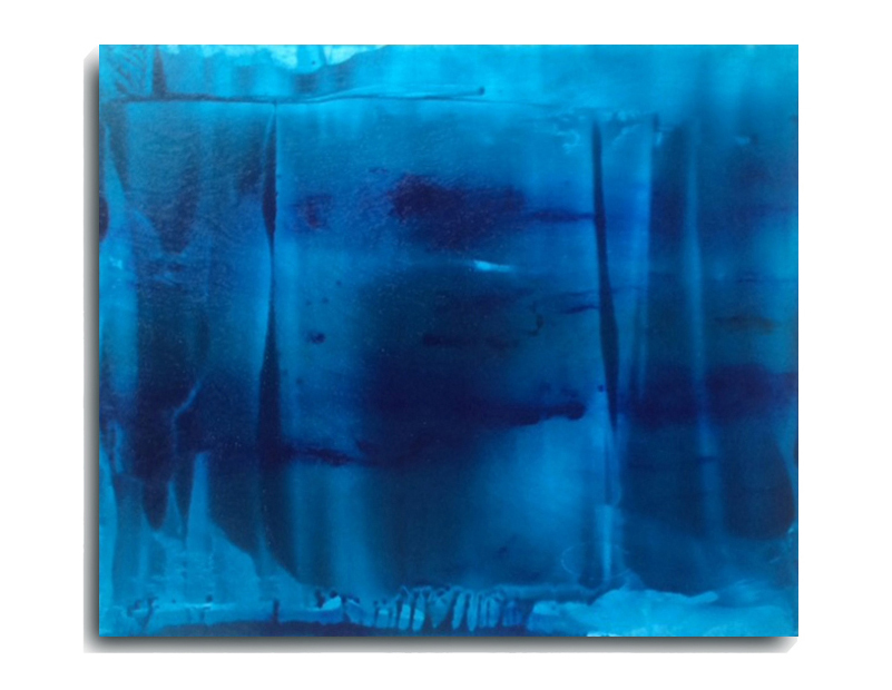 Translucent Rectangle 01, 2015, Acrylic Painting by Mark Sivertsen of SivertsenArt.com