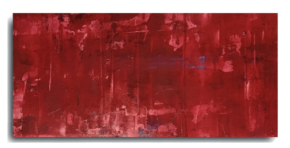 Translucent Rectangle 02, 2016, Acrylic Painting by Mark Sivertsen of SivertsenArt.com