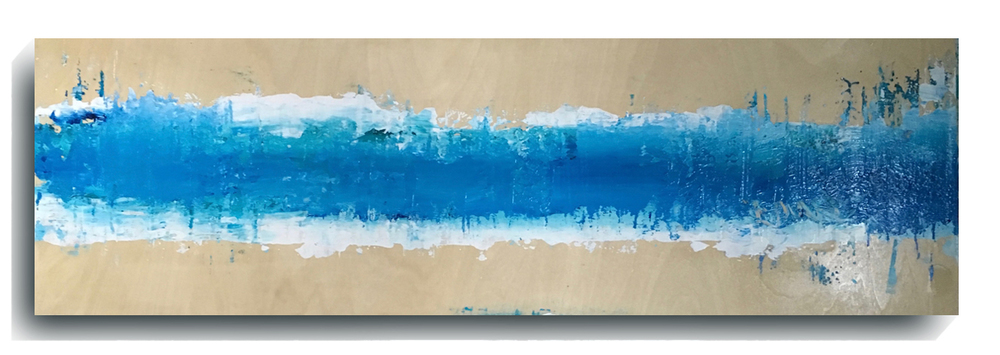 Beam     Panoramic     05,    2016, Acrylic on wood panel, 12 x 36 inches, $495        Contact Mark Sivertsen