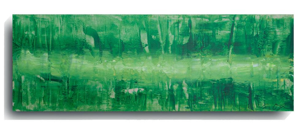 Beam     Panoramic     02,   2015, Acrylic on wood panel, 12 x 36 inches, $495     Contact Mark Sivertsen
