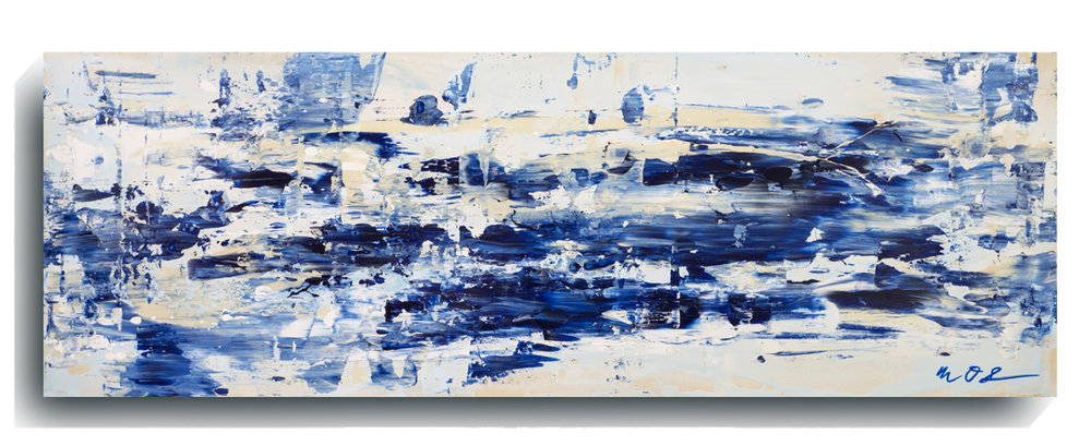 Shards      Panoramic 08,   2016, Acrylic on wood panel, 12 x 36 inches, SOLD -  AVAILABLE FOR PRINTS     Contact Mark Sivertsen
