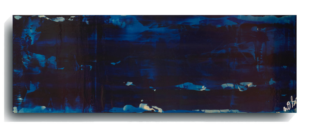 Translucent Panoramic 03,   2016, Acrylic on wood panel, 12 x 36 inches, $495     Contact Mark Sivertsen
