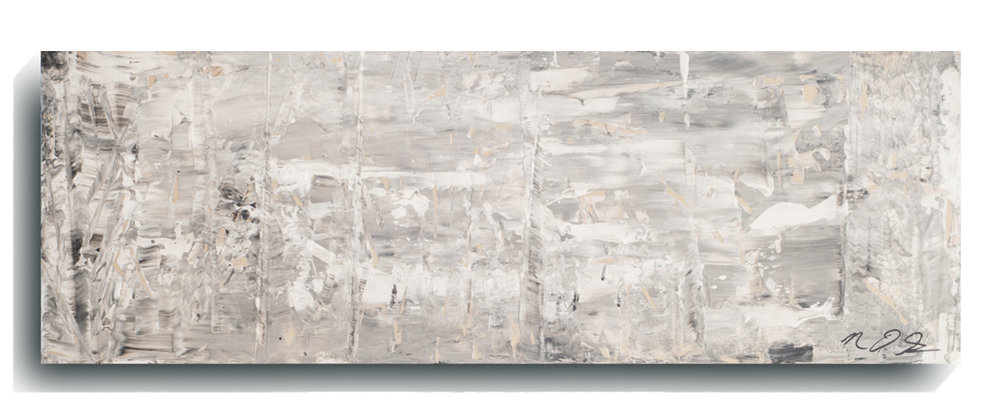 Shards     Panoramic     04,    2015, Acrylic on wood panel, 12 x 36 inches, $495        Contact Mark Sivertsen