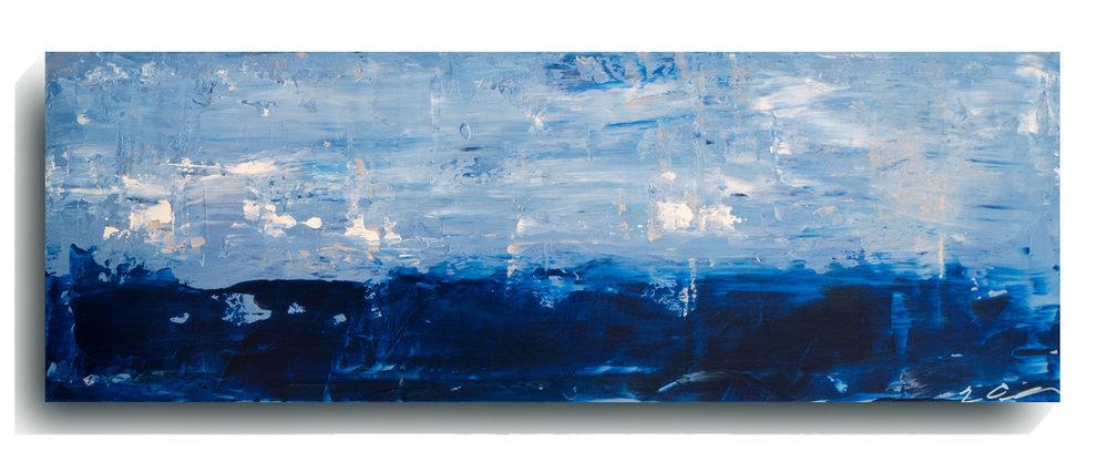 Horizon     Panoramic     02,   2015, Acrylic on wood panel, 12 x 36 inches, $495     Contact Mark Sivertsen
