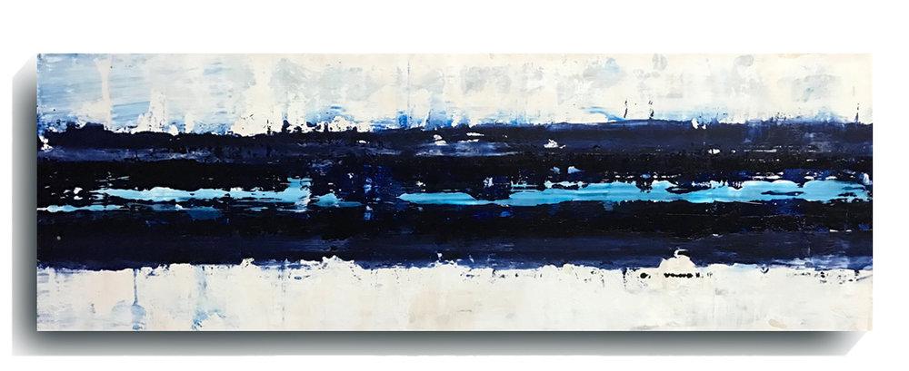 Beam     Panoramic    07,   2016, Acrylic on wood panel, 12 x 36 inches, $495     Contact Mark Sivertsen