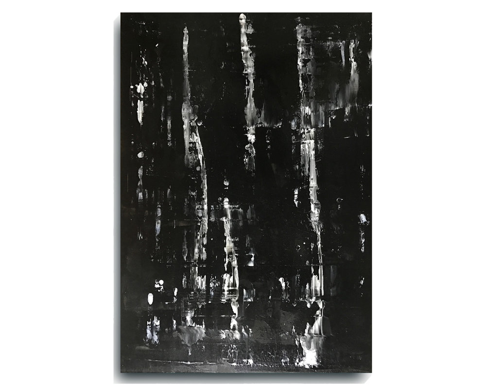 Rorschach     Rectangle 07     ,   2016, Acrylic on wood panel, 24 x 40 inches, $695     Contact Mark Sivertsen