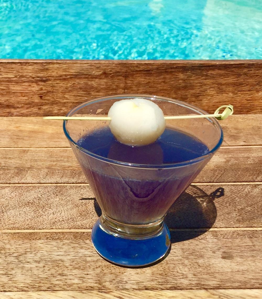 Lychee Violette Martini