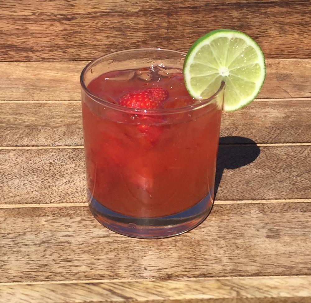 Strawberry Agave Margarita
