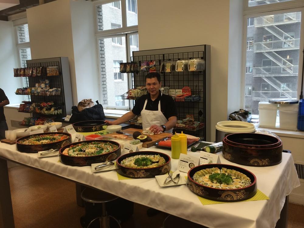 Live Sushi Chef