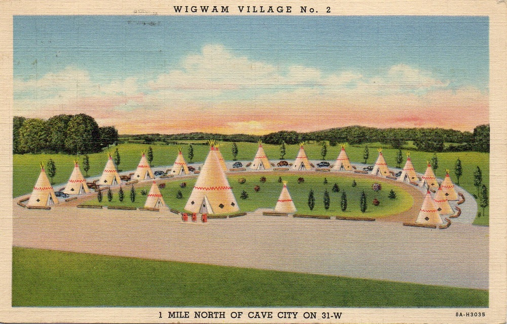 There were seven Wigwam Villages built from the 1930's to the 1950's from Florida to California. We are pretty sure that a few have been converted to drive-thru Starbucks.