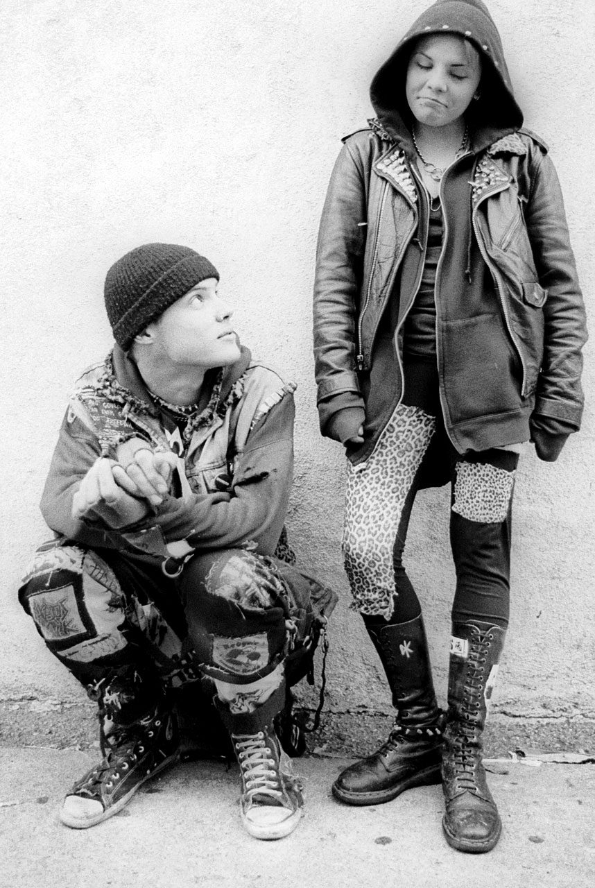 gutter punk clothing