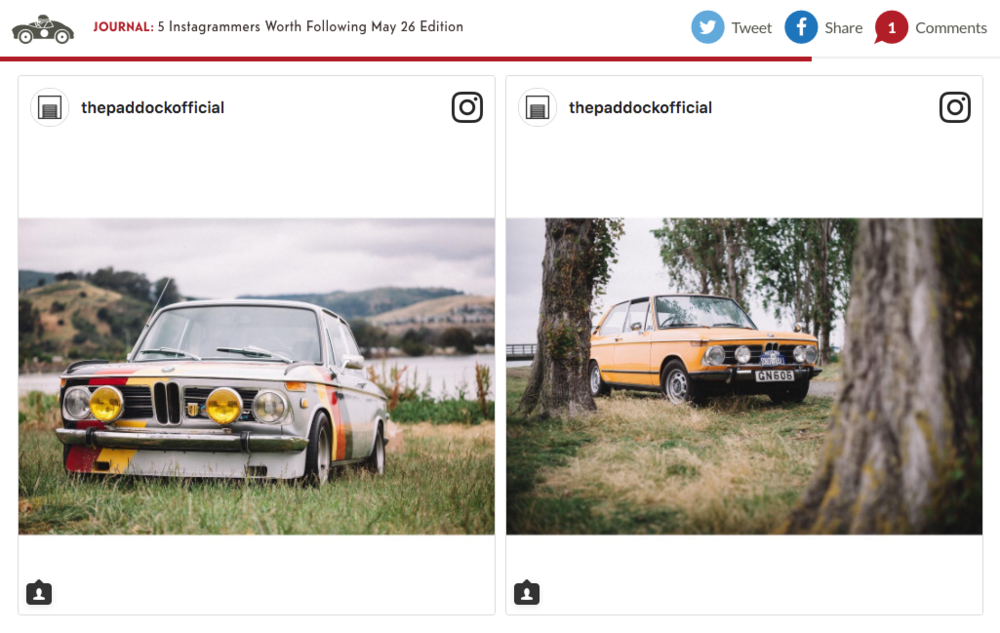 Feature on Petrolicious.com -