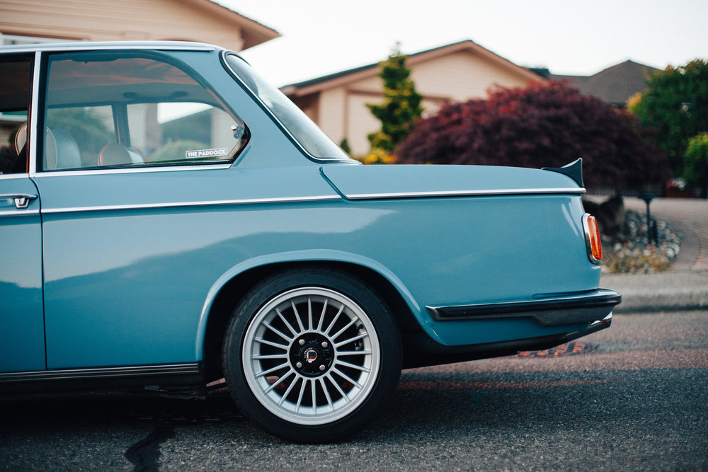 Beauty in Simplicity: 1976 BMW 2002 Restomod / The Paddock