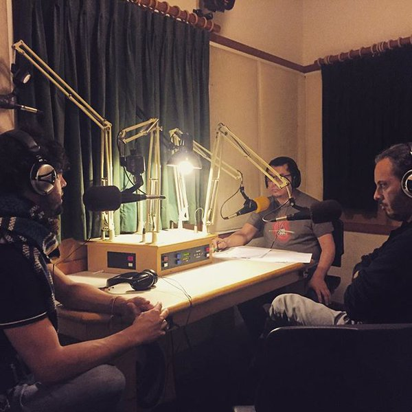with film director Arturo Gonzalez Villasenor and journalist Miguel Guerre on KPFA