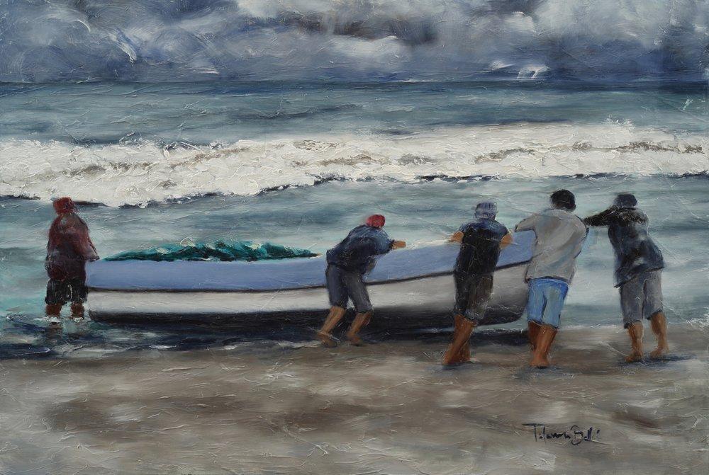"""""""Pescadores en Gigante"""""""