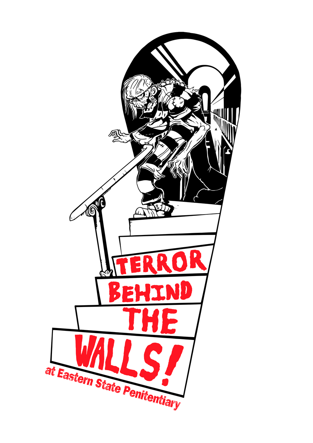 Terror Behind the Walls Advertisement