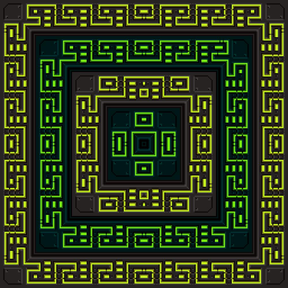 Techno Tapestry Tileset