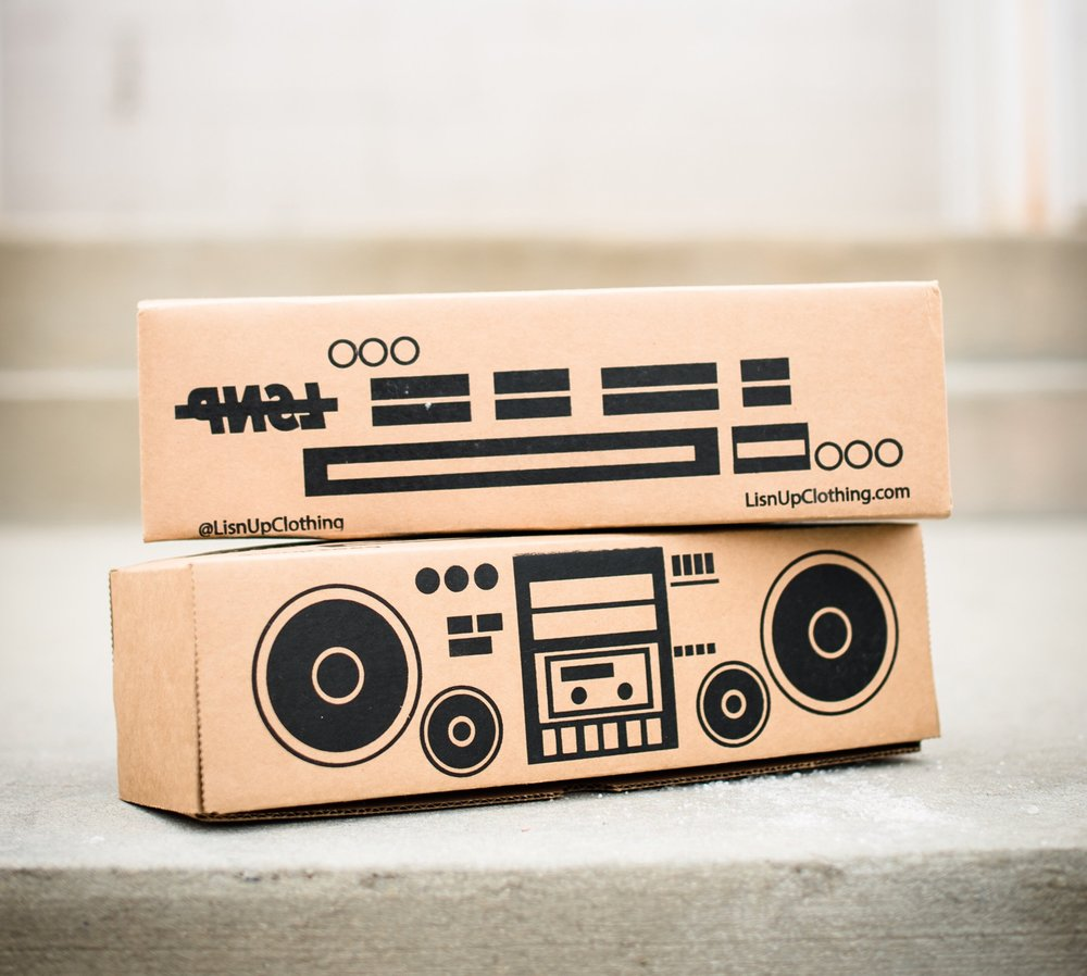 boombox packaging - shot by @_shabster