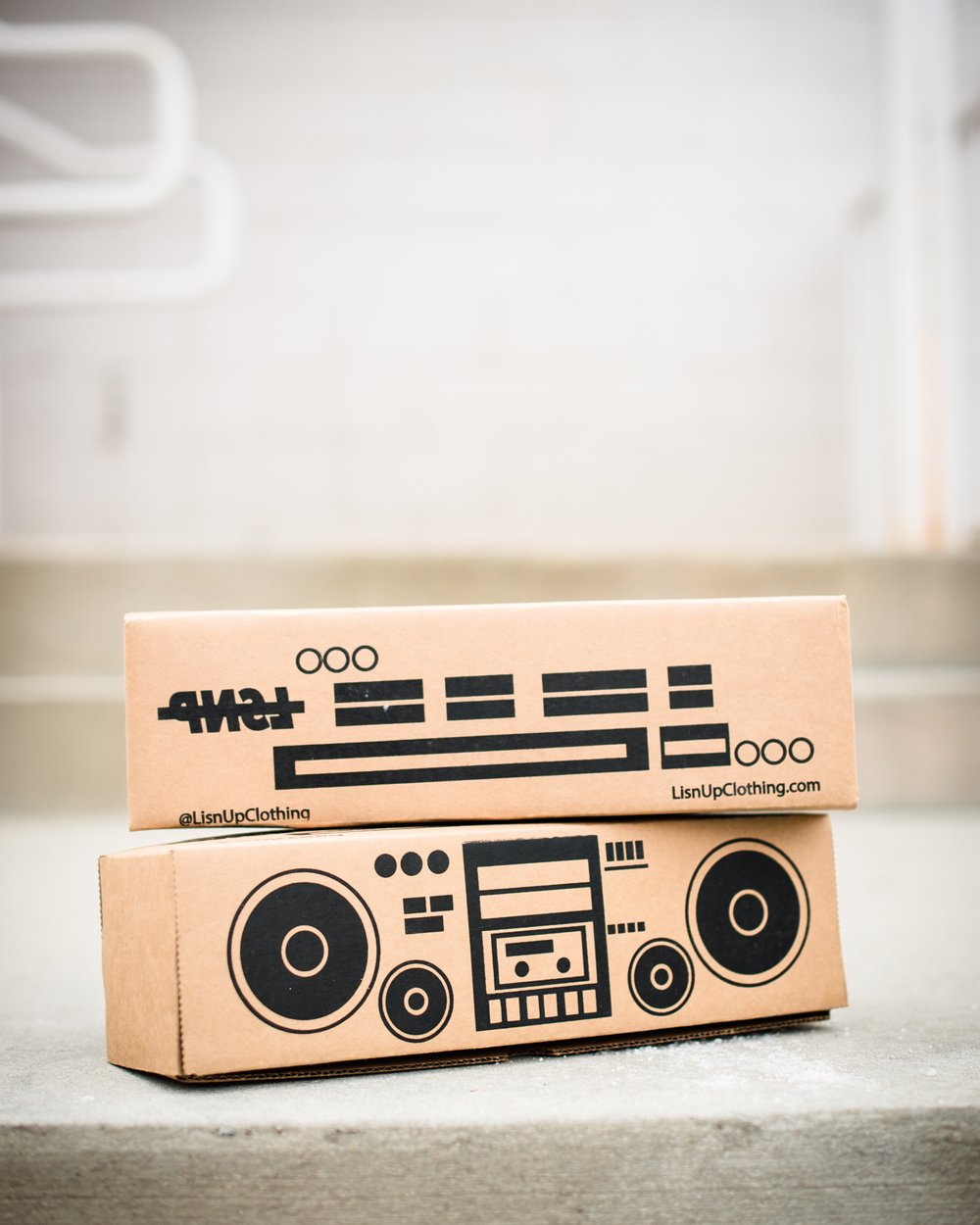 Boombox Packaging