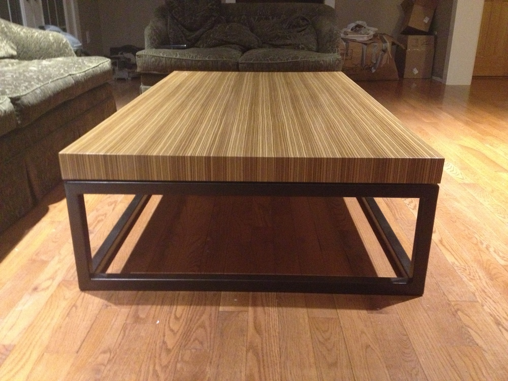 zebra wood top with oil rubbed bronze metal base (1).JPG