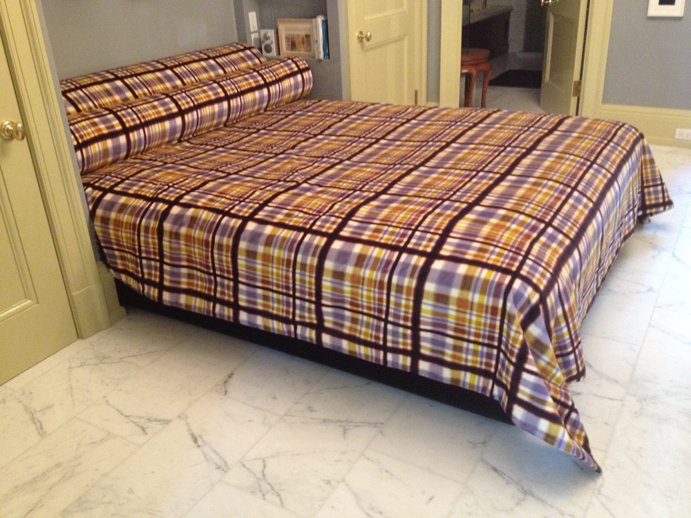 duvet cover and upholstered base.JPG