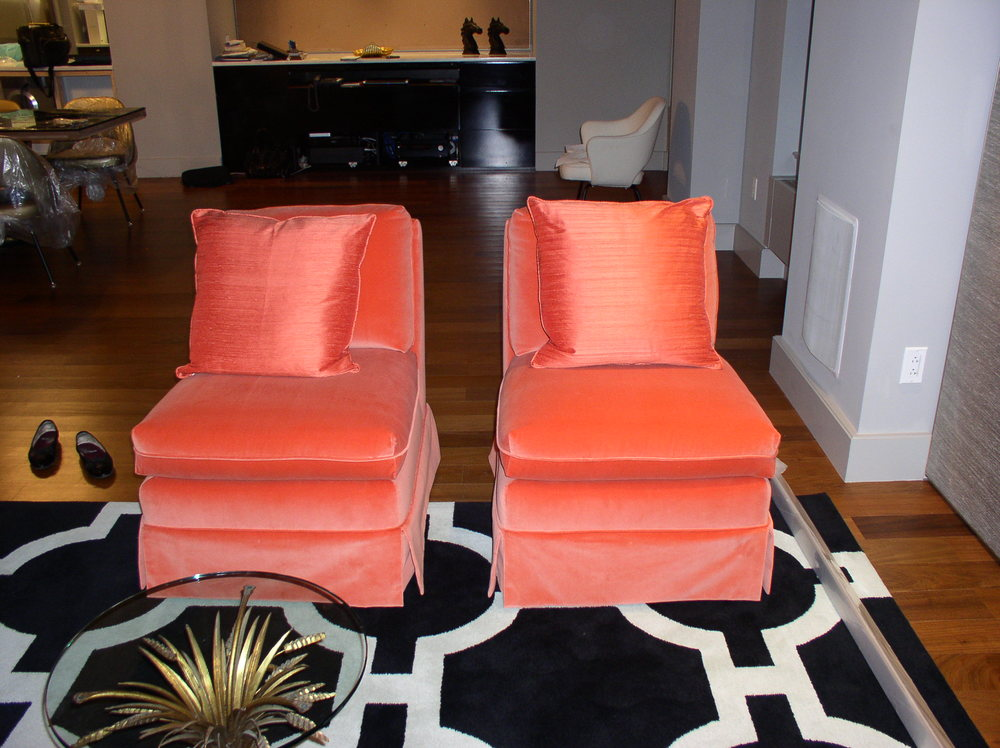 reupholstered armless chairs.JPG