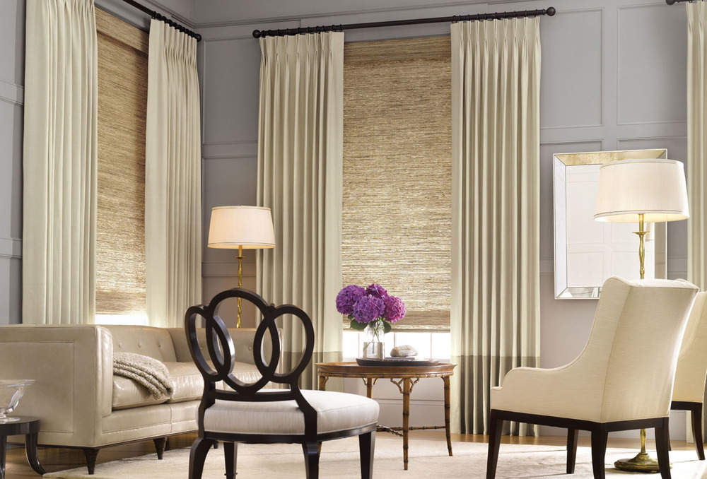 furniture-interior-modern-style-window-treatments-with-cream-straight-curtain-in-black-iron-tubular-panel-combine-blinds-radiance-sun-shade-in-cocoa-awesome-window-treatment-ideas.jpg