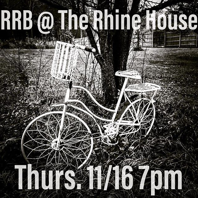 #OrganicFolk at the Rhine House this Thursday!  We'll catch you in #Ithaca