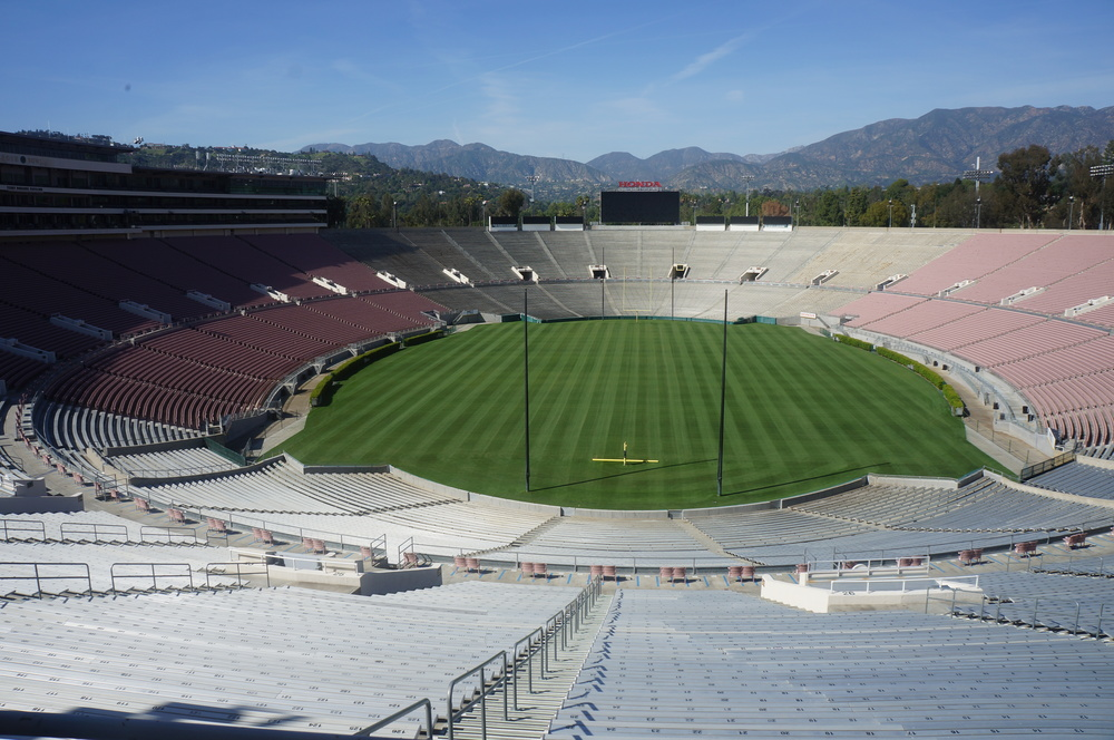 Project Information    Location   /  Rose Bowl Stadium -  Pasadena, California  Areas   / Accessible areas of the historic bowl  Status   / Completed