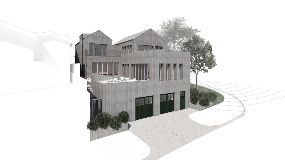 Project Information    Location   /  Pacific Palisades- Los Angeles, California  Architect  / OBERMEYER Architecture  Size   / 4,200 SF  Status   / In Progress  Cost   / Undisclosed     Renderings Credit   / OBERMEYER Architecture