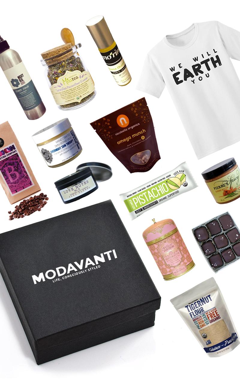 seed modavanti vegan lifestyle box