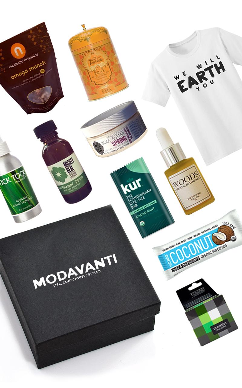 seed modavanti vegan womens box