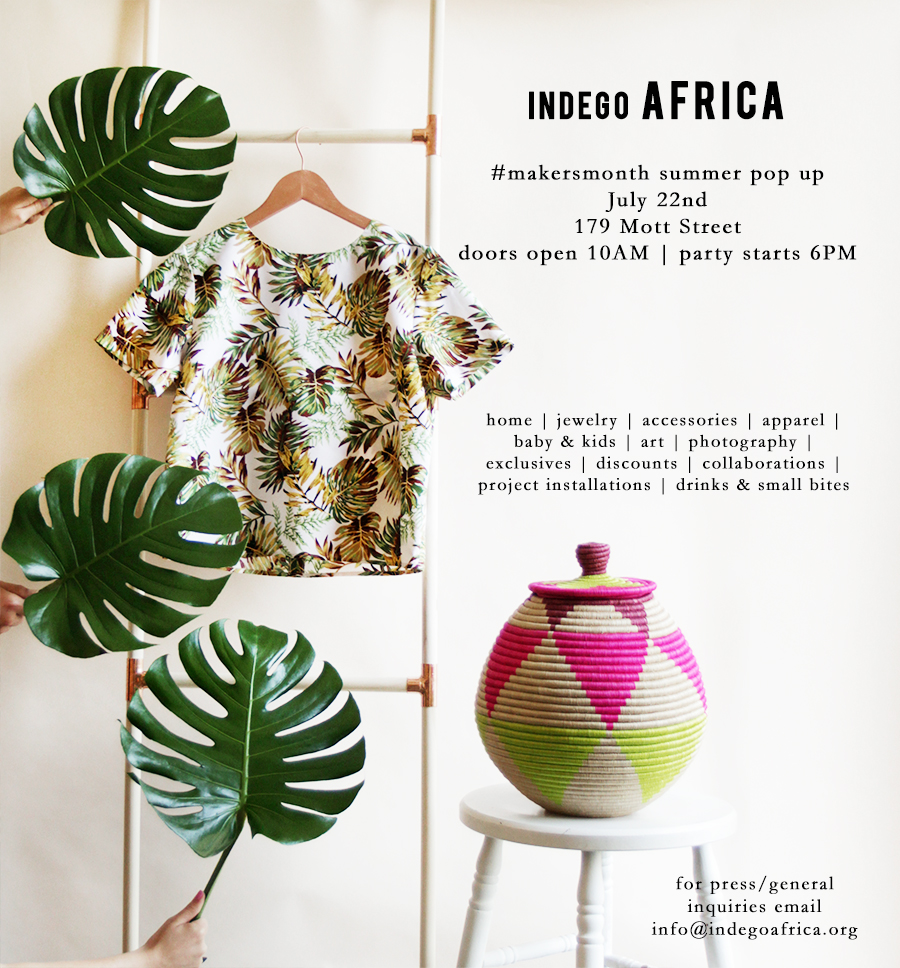indego africa pop up