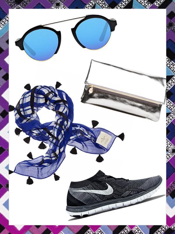 Image Sources: Clare Vivier, Nike, Kate Spade + Illesteva