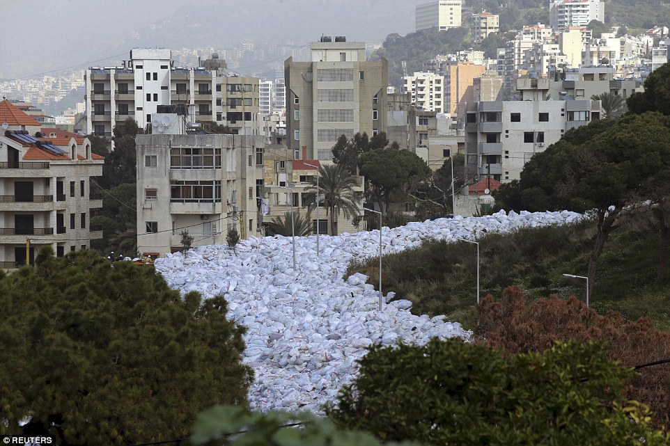 BEIRUT'S TRASH RIVER: HOW DID IT GET SO BAD?