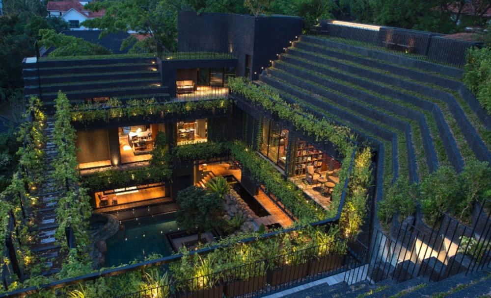 Corn Wall Gardens, Singapore