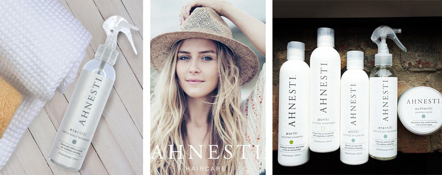 Click on the image to shop Ahnesti Organic Haircare
