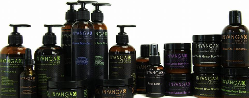 Click on the image to shop Inyanga organic hair care and cosmetics