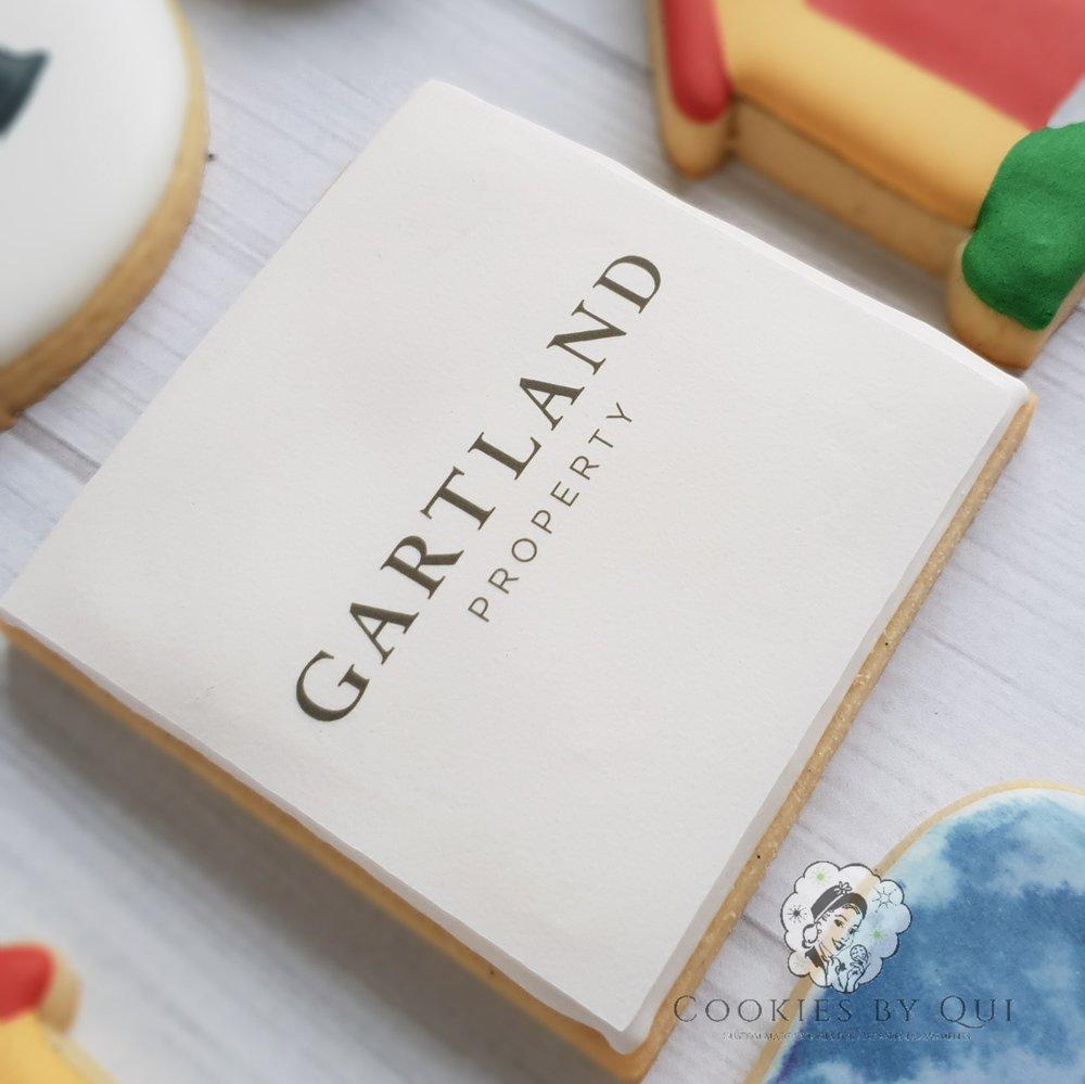 Gartland Property Edible Image Logo Cookies