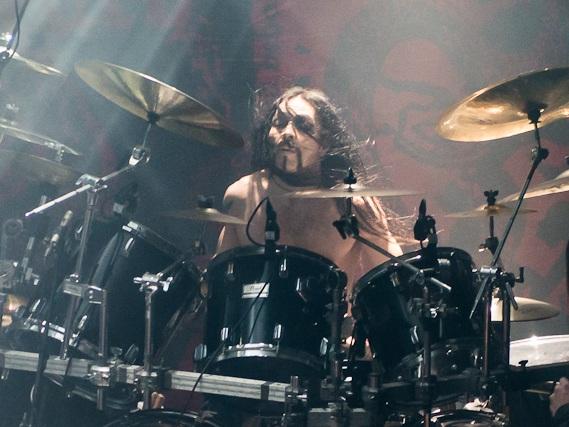 Kjetil-Vidar+Haraldstad+on+drums