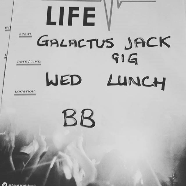 It's tomorrow! First 180 into the BB at lunch time. Get there early, don't miss out! #LiveLife1010 @liftlondonlive @messagetrust @galactusjack