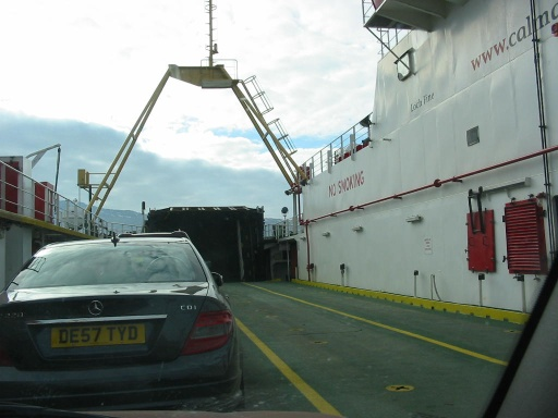 "On board the ferry ""Loch Fyne"""