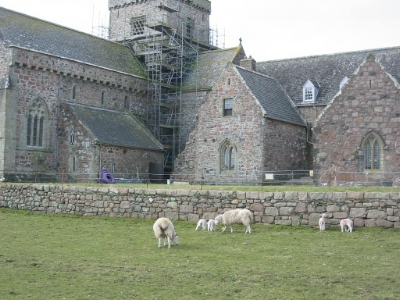 Lot of work was going on in the Abbey at the time.
