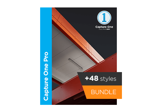 SAVE $136 Capture One Pro 12 +3 Style Packs bundle - Perpetual license + 3 Style Packs- Cinematic Styles- Film Styles- Black & white Styles