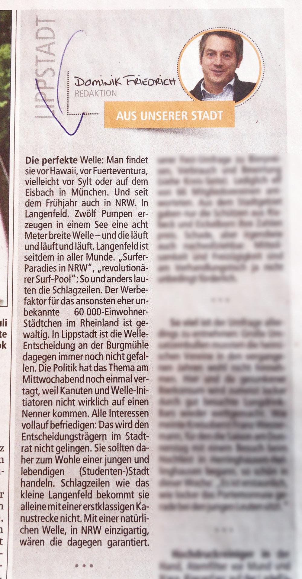 aus  Zeitungsverlag Der Patriot  / Ausgabe Samstag, 12. Mai 2018