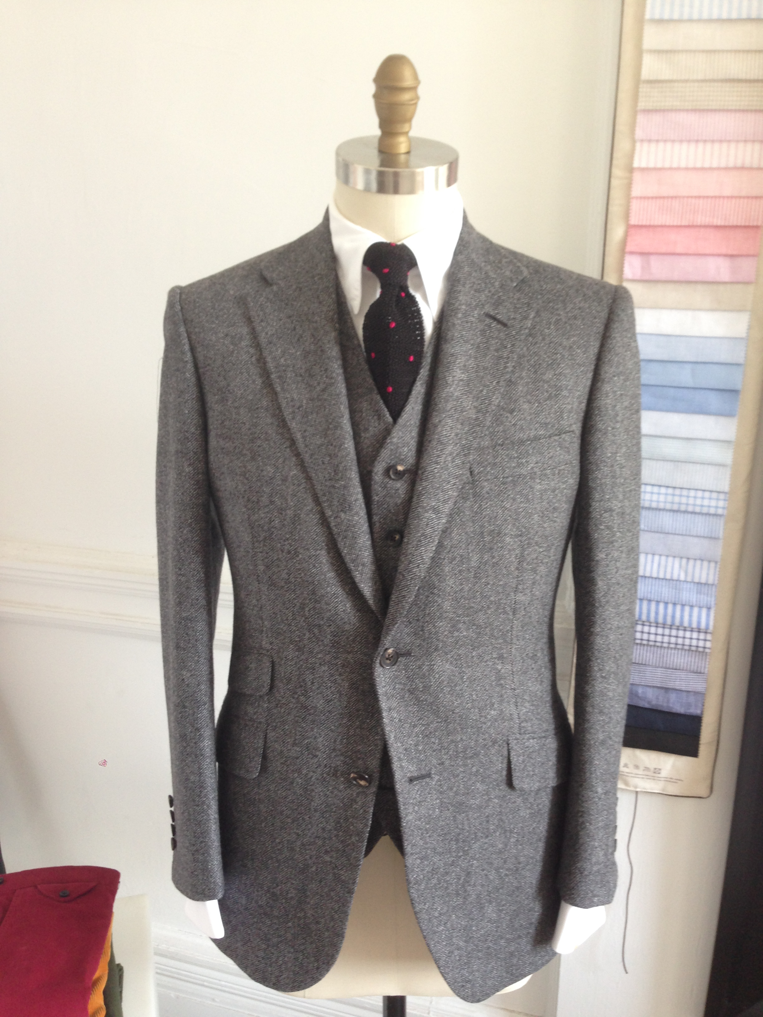 Three Piece tweed Porter and Harding by David Reeves